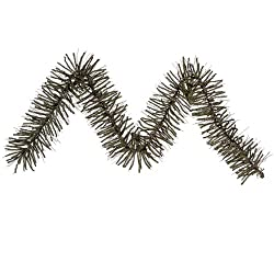 "9' x 10"" Vienna Twig Artificial Christmas Garland - Unlit"