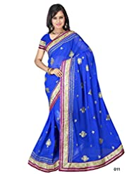 Astha Fashion Party Ware Embroidery Work Saree
