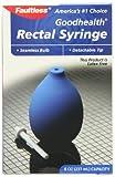 Faultless Goodhealth Rectal Syringe Latex Free, 8-Ounce Capacity