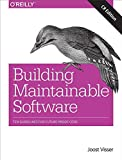 img - for Building Maintainable Software, C# Edition: Ten Guidelines for Future-Proof Code book / textbook / text book