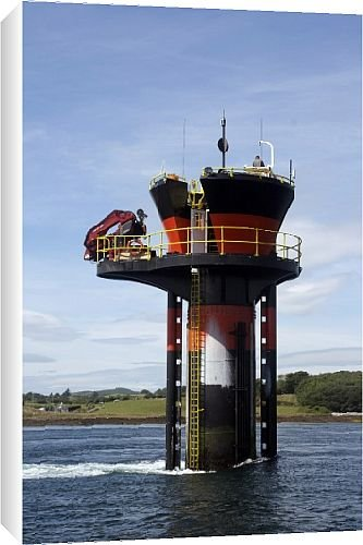 Canvas Prints of Experimental tidal generator, Strangford Lough, County Down, Ulster, Northern from Robert Harding