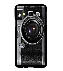 Fuson Premium Camera Metal Printed with Hard Plastic Back Case Cover for Samsung Galaxy A3