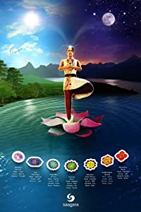 "Augmented Reality Poster - Chakra Meditation by Saagara - 24"" x 36"""