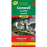 Freytag Berndt Autokarten, Cornwall, Top 10 Tips - Maßstab 1:150.000: Citypläne. Ortsregister mit Postleitzahlen...