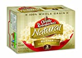 nbacher&#39;s Gourmet Microwavable Popcorn, Natural Simply Salted 50% Less Fat, 3-Count Boxes (Pack of 12): Amazon.com