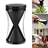 Home Chef Cooking Vegetable Spiral Slicer - Fruit Cutter Peeler Kitchen Tool