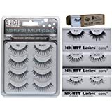 7 Pairs Combo Bundle Of Ardell Professional 110 (4 Pair) + Mighty Lashes By COTU (R) DW, WSP & 605 (1 Pair Each...