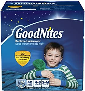 Goodnites Underwear - Boy - Small/Medium - 40 ct