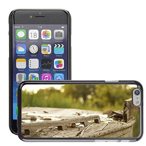 """Carcasa Funda Prima Delgada SLIM Casa Case Bandera Cover Shell para // M00150040 Legno Broke Outdoor Vecchia Struttura // Apple iPhone 6 4.7"""""""