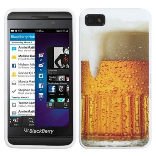 MyBat Beer-Food Collection Candy Skin Cover for Blackberry Z10 - Retail Packaging - Multi Color
