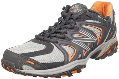New Balance Men's MT626 Trail Running Shoe,Grey/Orange,7 D US