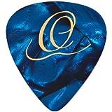 Ortega Lot de 10 médiators Heavy Blue Pearl
