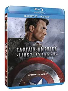 Captain America : The First Avenger [Combo Blu-ray 3D + Blu-ray 2D]