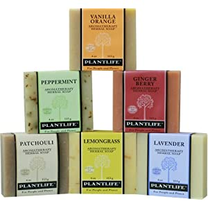 Natural Aromatherapy Herbal Soaps