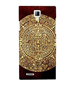 EPICCASE golden mayan Mobile Back Case Cover For Micromax Canvas Xpress A99 (Designer Case)
