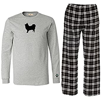 Amazon.com: Japanese Spitz Mens Flannel Pajamas.: Clothing
