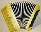 Very Rare Amazing Old Italian Piano Accordion Macerata 120 Bass Made in Italy 57