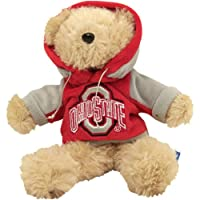 """Ohio State Buckeyes 8"""" Fuzzy Hoody Bear by Forever Collectibles"""