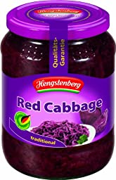 Hengstenberg Salads, Red Cabbage, 24 Ounce (Pack of 12)