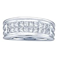 2.00CTW DIAMOND MENS INVISIBLE BAND