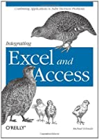 Integrating Excel and Access Front Cover