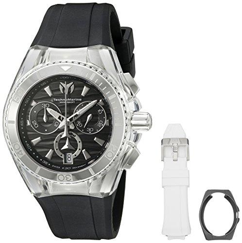 technomarine-cruise-damen-armbanduhr-armband-silikon-schwarz-gehause-edelstahl-quarz-analog-tm-11505