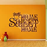 Sweet Home Wall Sticker Decal One - B00O9VXBZC
