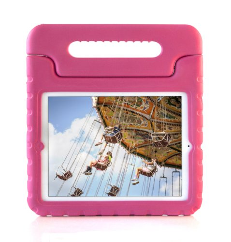 Suchacase Kids Friendly Child Safe Light Weight Protective Foam Case For Apple Ipad 2 Ipad 3 & Ipad 4 (Pink) front-554806