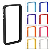 55403A Apple Iphone 4 4S Stylish Bumper Frame Case Cover + FREE Stylus Pen