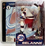 McFarlane Toys NHL Sports Picks Series 6 Action Figure: Teemu Selanne (Winnipeg Jets) White Jersey Retro VARIANT at Amazon.com