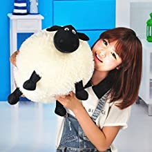Stuffed Soft Plush Toy for Shaun The Sheep Character Baby Toy