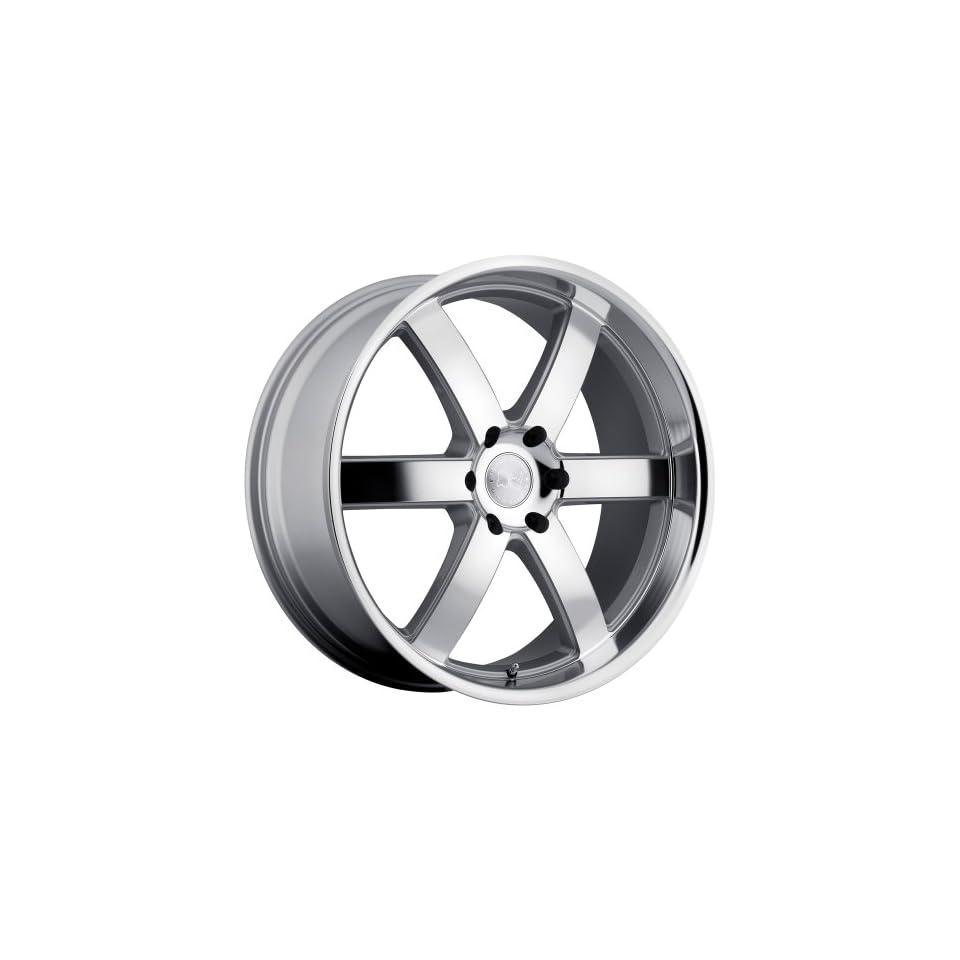 Black Rhino PONDORA Silver Wheel (20x8.5/6x139.7mm ,+18mm offset)