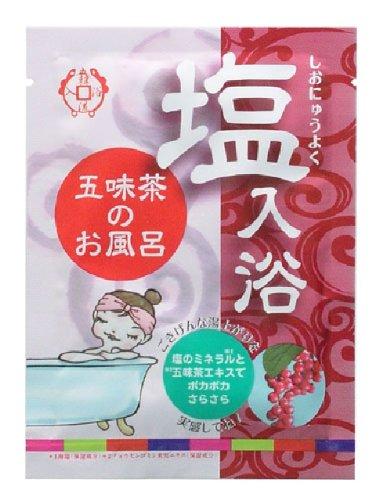 韓国入浴剤 バスソルト 五味茶12包入ディスプレーBOX