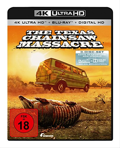 Texas Chainsaw Massacre (4K Ultra HD) (+ 2 Blu-rays) (+ Digital Copy) [Edizione: Germania]