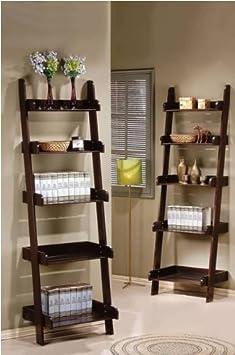 book shelf ladder