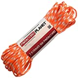 Paracord Planet 50 550lb Type III Creamsicle Paracord
