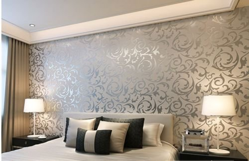 20 Floral Wallpaper Bedroom Ideas Toprate Emboss Textured Pattern Wallpaper Decal 394 By 21 Inch