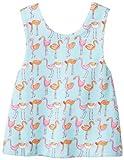 Zutano Baby-Girls recién nacido Flamingo Rev Sunshine Top, Aqua, 6Meses Color: Azul Tamaño: 6Meses infantil, bebé, niño
