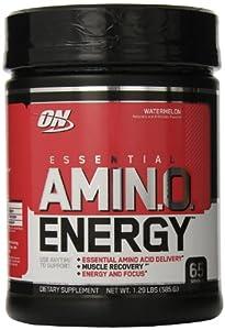 Optimum Nutrition Essential Amino Energy, Watermelon, 65 Serving, 1.29 Pound