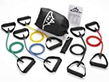 Shape Up, Training Black Mountain Products Resistance Band Set (Five Bands Included) Fitness, Sport, Exercise
