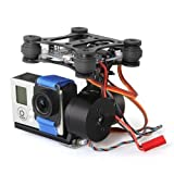 RTF Gopro Hero3 Brushless Gimbal Camera Mount for DJI Phantom Walkera Qr X350