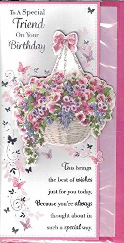 friend-birthday-card-to-a-special-friend-on-your-birthday-flower-basket-butterflies-slim-card