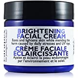 Carapex Facial Brightening Cream - Natural Whitening Face Cream for Sensitive Skin, Acne Marks, Uneven Skin Tone, Unscented, Gentle Botanical Extracts, Suitable for Body, Sensitive Areas, Paraben Free, 2oz 60ml