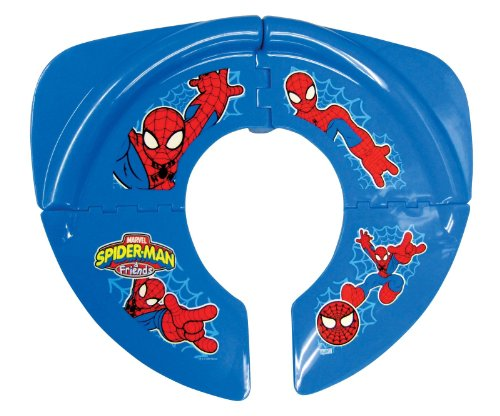Marvel Heroes Folding Potty Seat, Red Blue