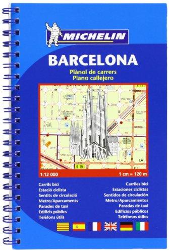 Plano Barcelona En Espiral (Planos Michelin)