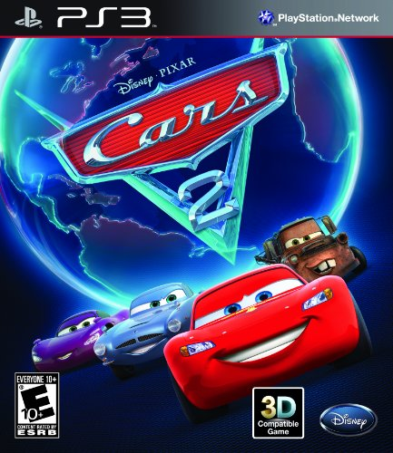 Cars 2: The Video Game - Playstation 3 front-938813