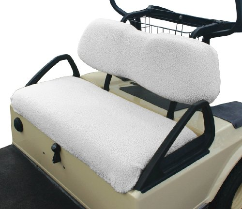 Classic Accessories Fairway Golf Car Fleece Seat Cover (Fits golf car Bench Seats)