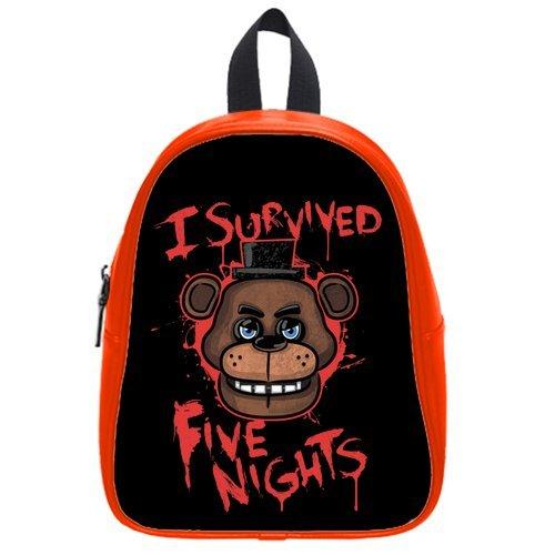 LilyFavor Survived Five Nights At Freddy'S Cool Design Custom Casual Zaino School Borsa (L)