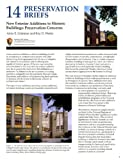 img - for New Exterior Additions To Historic Buildings: Preservation Concerns book / textbook / text book