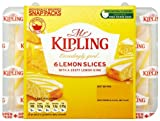 Mr Kipling Exceedingly Good 6 Lemon Slices Snap Packs 162 g (Pack of 12)